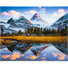 Картина на стекле 40х50 см «Парад облаков»