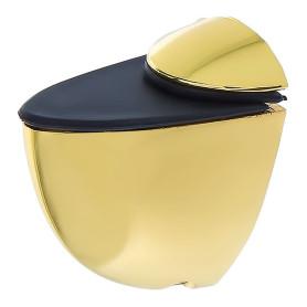 Полкодержатель Boyard Пеликан малый, цвет глянцевое золото