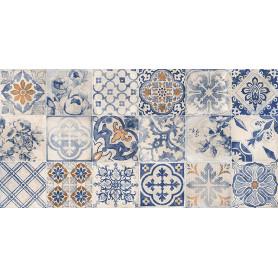 Плитка настенная «Касабланка» 19.8х39.8 см 1.58 м2 цвет синий