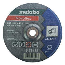 Круг зачистной по металлу Metabo, 230х6 мм