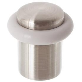 Стопор дверной Apecs DS-0013-NIS, металл, цвет никель
