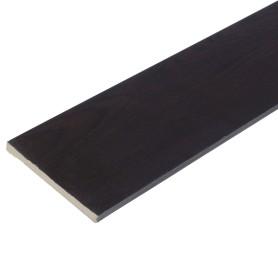 Добор 100 мм, CPL, цвет дуб шоколадный