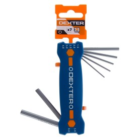 Набор ключей Dexter шестигранник Hех 1.5-6 мм 7 шт.