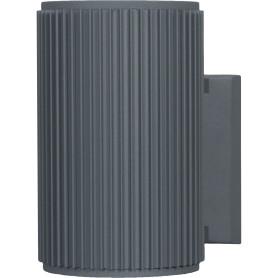 """Настенный светильник уличный Elektrostandard """"Techno"""" 1404, 1xE27x60 Вт, 26 см, цвет серый"""