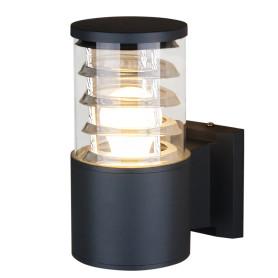 """Настенный светильник уличный Elektrostandard """"Techno"""" 1408, 1xE27x60 Вт, цвет чёрный"""