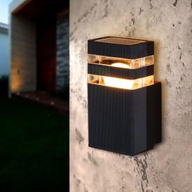"""Настенный светильник уличный Elektrostandard """"Techno"""" 1450, 1xE27x60 Вт, цвет чёрный"""