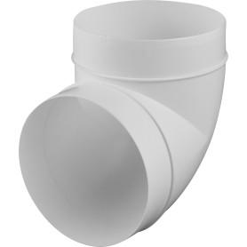 Колено круглое Equation, 90 градусов, D125 мм