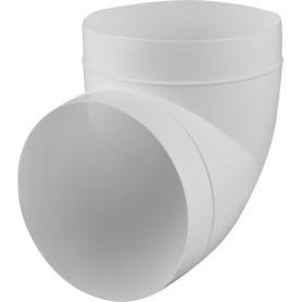 Колено круглое, 90 градусов, D150 мм