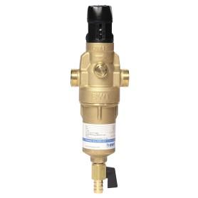 """Фильтр механической очистки BWT Protector Mini 1/2"""" c редуктором давления для горячей воды, 100 мкм"""
