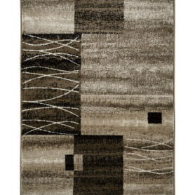 Дорожка ковровая «Орнамент» полипропилен 1 м цвет бежевый