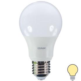 Лампа светодиодная Osram груша E27 8.5 Вт 806 Лм свет тёплый белый