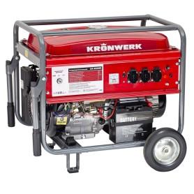 Генератор бензиновый Kronwerk LK 6500E 5 кВт