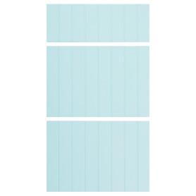 Двери для шкафа Delinia «Фенс мята» 40x70 см, МДФ, цвет зелёный, 3 шт.