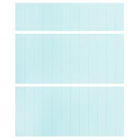 Двери для шкафа Delinia «Фенс мята» 60x15 см, МДФ, цвет зелёный, 3 шт.