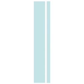 Угол для шкафа Delinia «Фенс мята» 4x70 см, МДФ, цвет зелёный