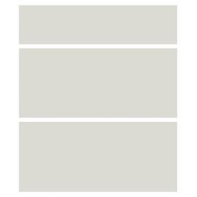 Двери для шкафа Delinia «Айс» 60x15 см, ЛДСП, цвет белый, 3 шт.