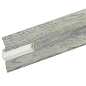 Плинтус напольный Artens «Равенна» ПВХ 65 мм 2.5 м