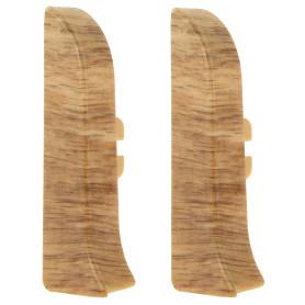 Заглушка для плинтуса левая и правая Artens «Гроссето» 65 мм 2 шт.