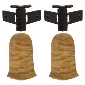 Угол для плинтуса внешний Artens «Мачерат» 65 мм 2 шт.