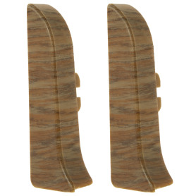 Заглушка для плинтуса левая и правая Artens «Мессина» 65 мм 2 шт.