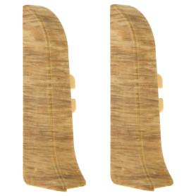 Заглушка для плинтуса левая и правая Artens «Модена» 65 мм 2 шт.