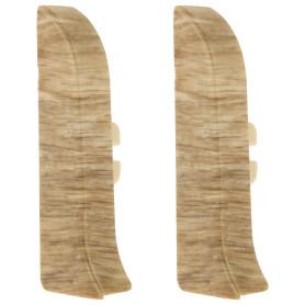 Заглушка для плинтуса левая и правая Artens «Палермо» 65 мм 2 шт.