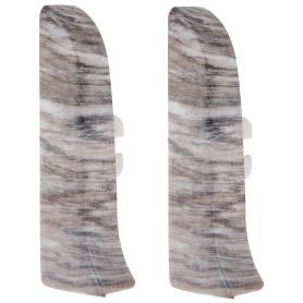 Заглушка для плинтуса левая и правая Artens «Равенна» 65 мм 2 шт.