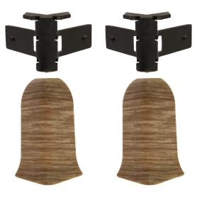Угол для плинтуса внешний Artens «Прато» 65 мм 2 шт.