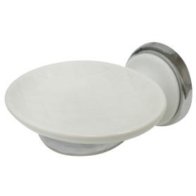 Мыльница подвесная «Aster» керамика цвет белый