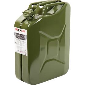 Канистра металлическая Rexxon для ГСМ 20 л