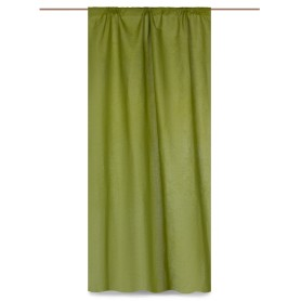 Штора на ленте «Весенняя зелень» 145х260 см цвет зелёный