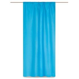 Штора на ленте «Морской бриз» 145х260 см цвет бирюзовый