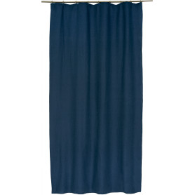 Штора на ленте «Ультрамарин» 145х260 см цвет синий