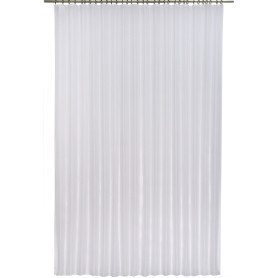 Тюль на ленте «Vesta» 250х260 см цвет экрю