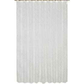 Тюль на ленте «Деворе» 250х260 см цвет шампань