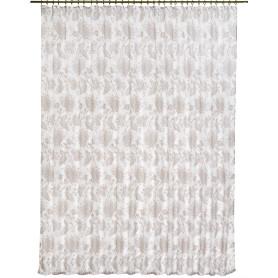 Тюль на ленте «Королевский цветок» 300х260 см цвет белый