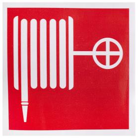 Наклейка «Пожарный кран» маленькая пластик