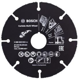Диск отрезной универсальный 115х22.2 мм Bosch 2608623012