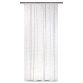 Тюль на ленте «Пенелопа» 250х260 см цвет серый