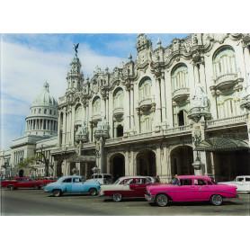 Картина на стекле 47х64 см «Гавана Куба»
