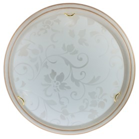 Светильник настенно-потолочный Provence Crema 2xE27x60 Вт, цвет бежевый