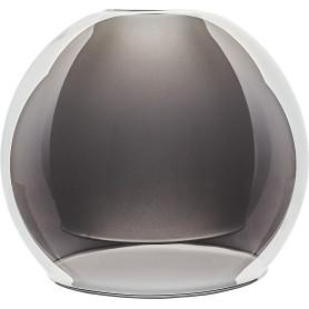 Плафон Полушар двойной 16 см, цвет серый