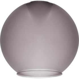 Плафон Полушар 18 см, сатин, цвет серый