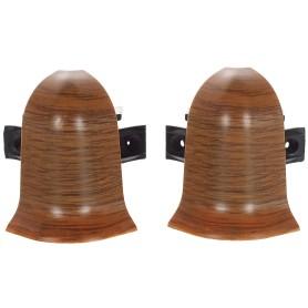 Угол для плинтуса внешний «Осина Обыкновенная» 47 мм 2 шт.