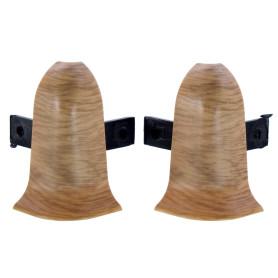 Угол для плинтуса внешний «Дуб Древний» 55 мм 2 шт.