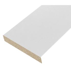 Наличник 70 мм, ламинация, цвет белый