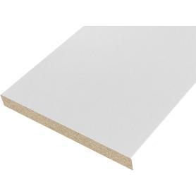 Добор 100x8x2070 мм, ламинация, цвет белый