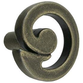Ручка-кнопка Kerron RK-083-OAB цвет оксидированная бронза