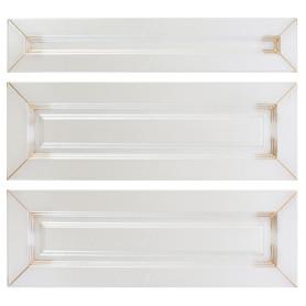 Двери для шкафа Delinia «Ницца» 60x70 см, МДФ, цвет светлый ясень, 3 шт.