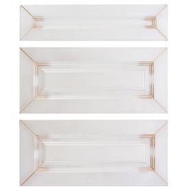Двери для шкафа Delinia «Ницца» 80x70 см, МДФ, цвет светлый ясень, 3 шт.